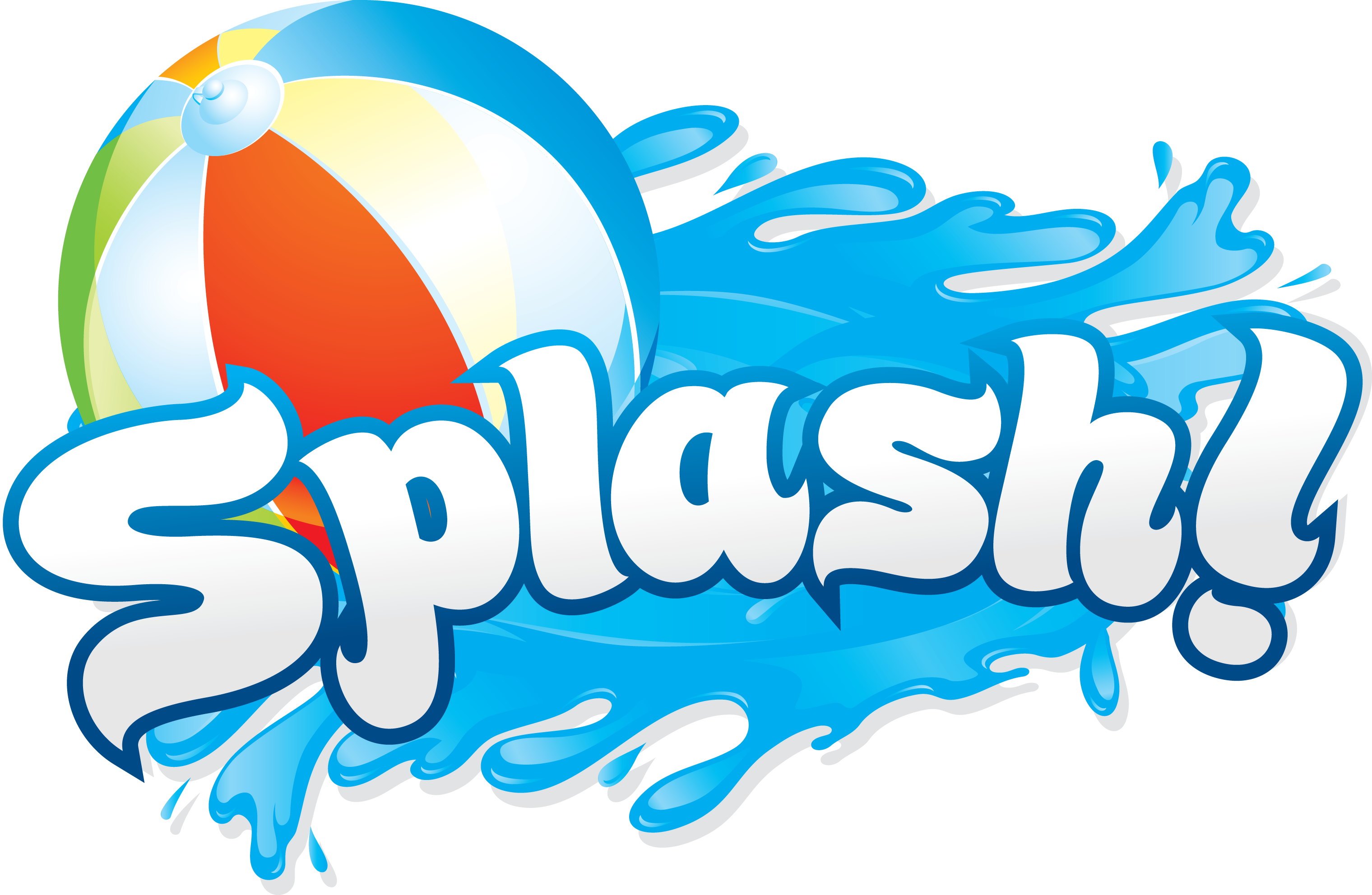 Pool party pool water party clipart 3
