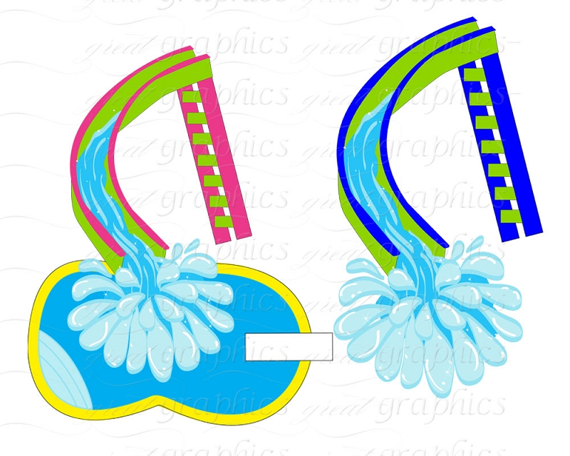 Pool party swimming party clipart free images 5