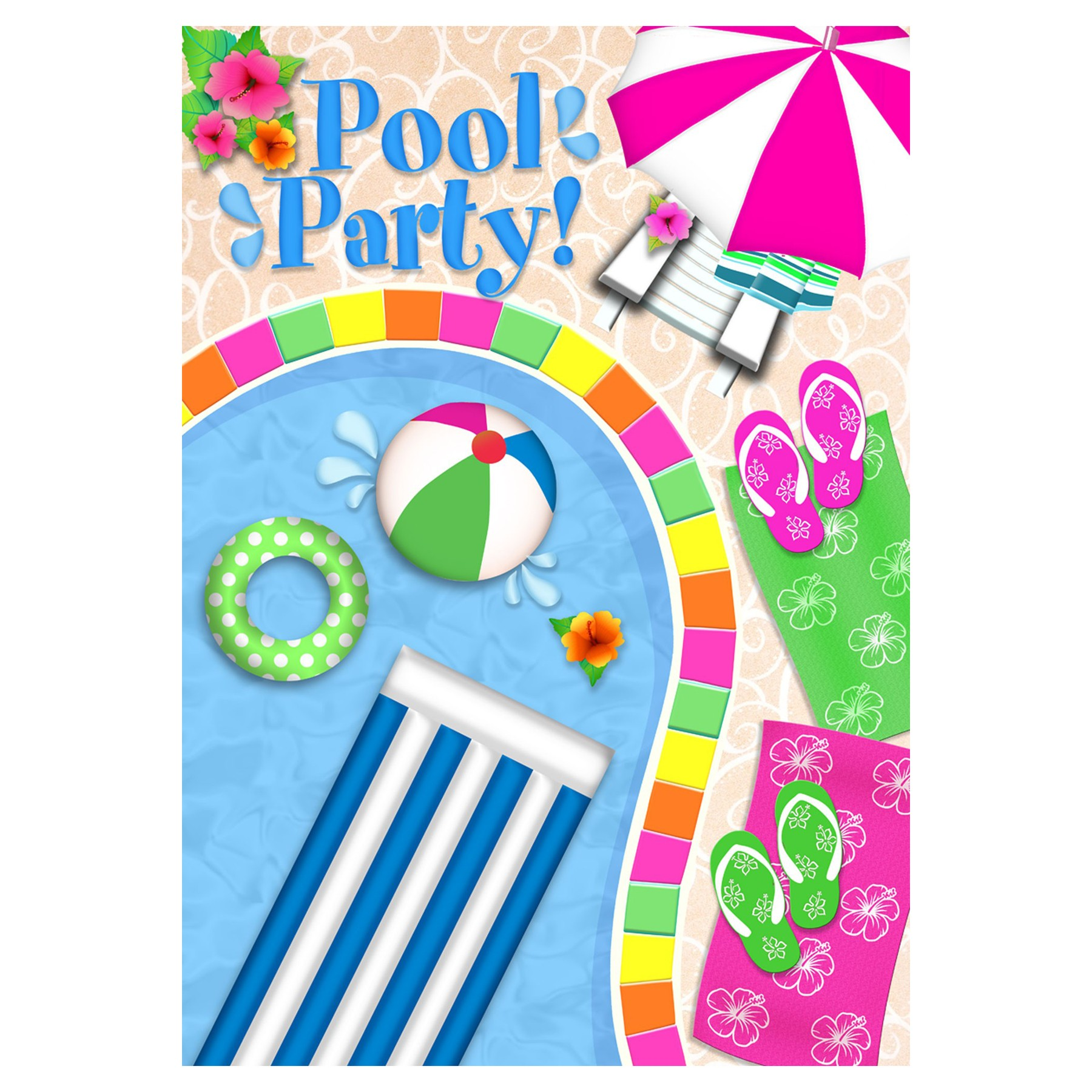Pool party swimming party clipart free images