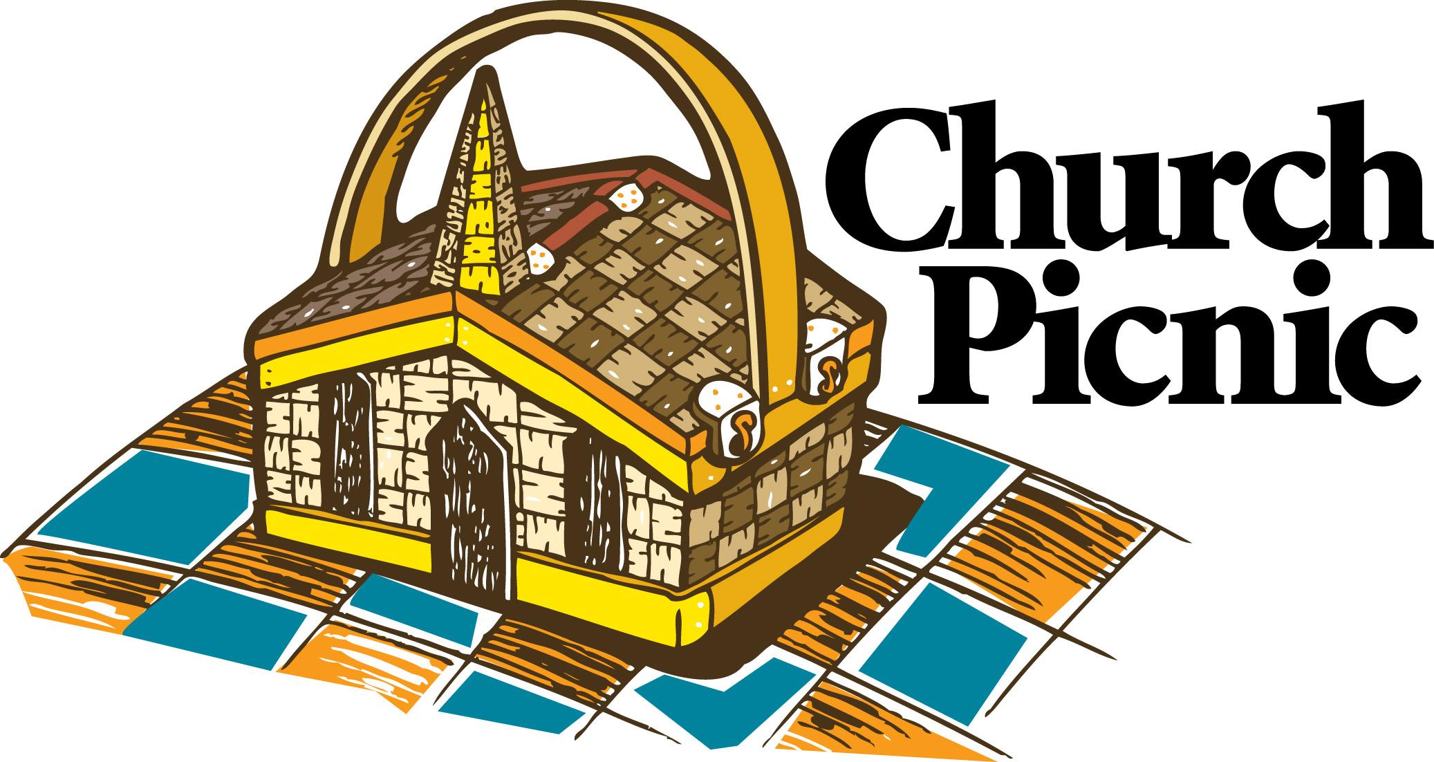 Potluck picnic clipart