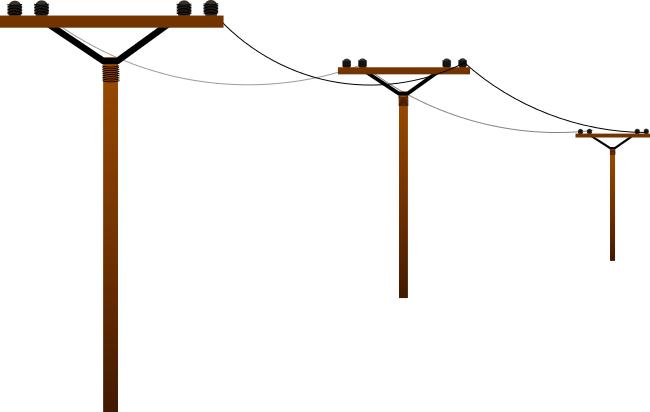 Power line clip art clipart