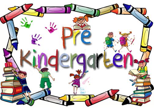 Pre kindergarten clipart