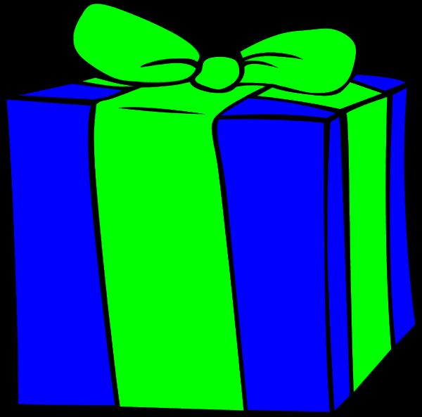 Present birthday t vector clip art