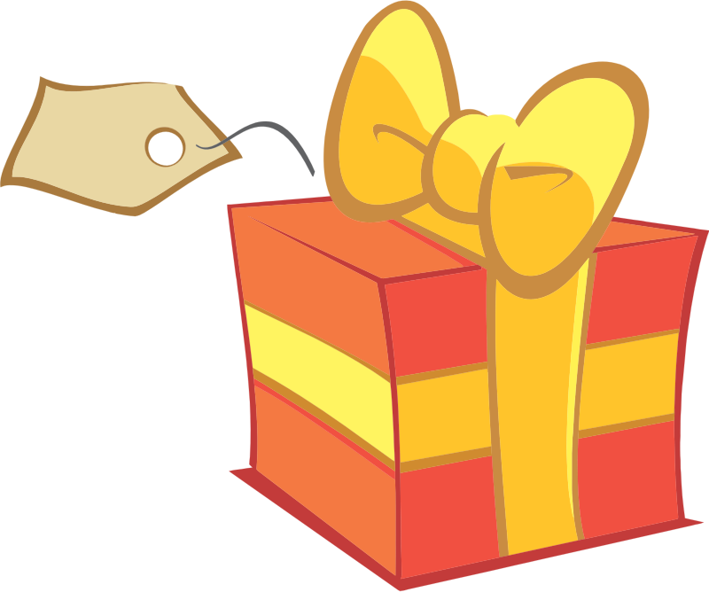 Present free to use clipart