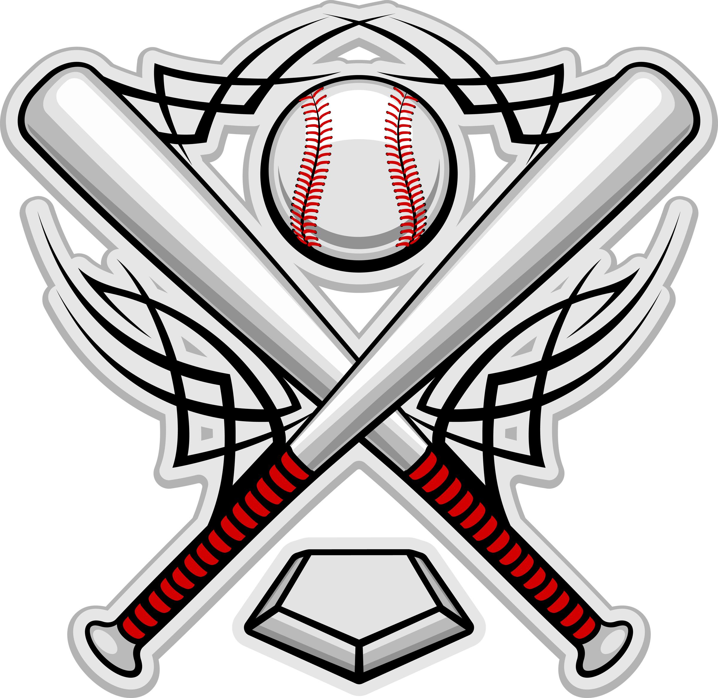 Printable baseball field clipart