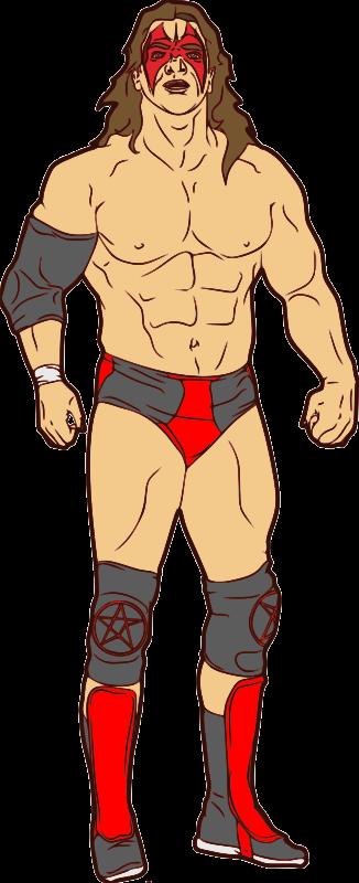 Pro wrestling clipart