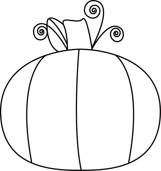 Pumpkin  black and white black and white pumpkin clip art image