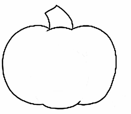 Pumpkin  black and white pumpkin clipart black and white 5