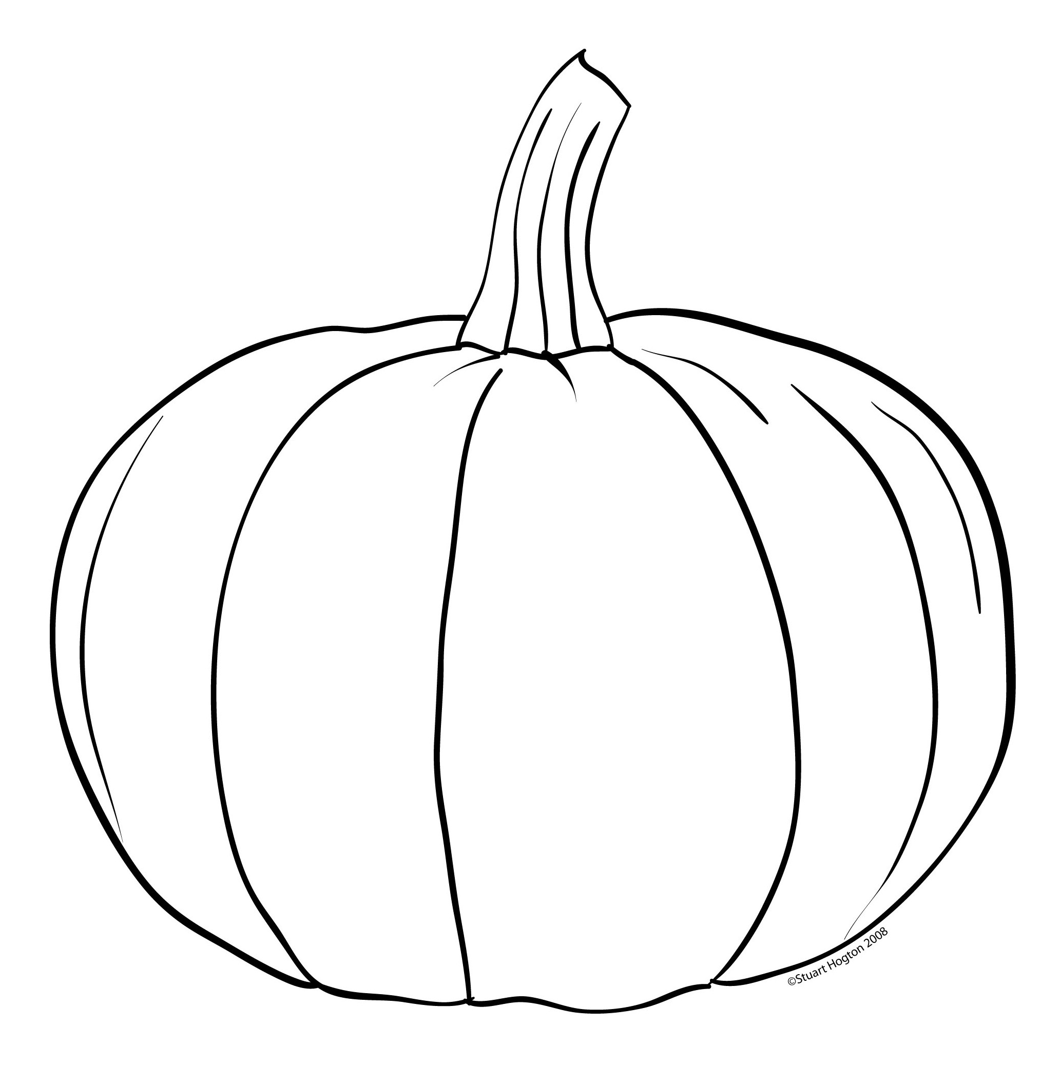 Pumpkin  black and white pumpkin clipart black and white 8