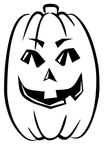 Pumpkin  black and white pumpkins clip art download 2