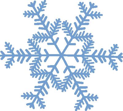 Purple snowflake clip art clipart