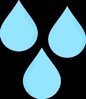 Raindrop clip art rain drops