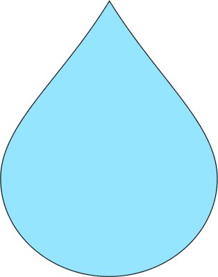 Raindrop clipart free images 4
