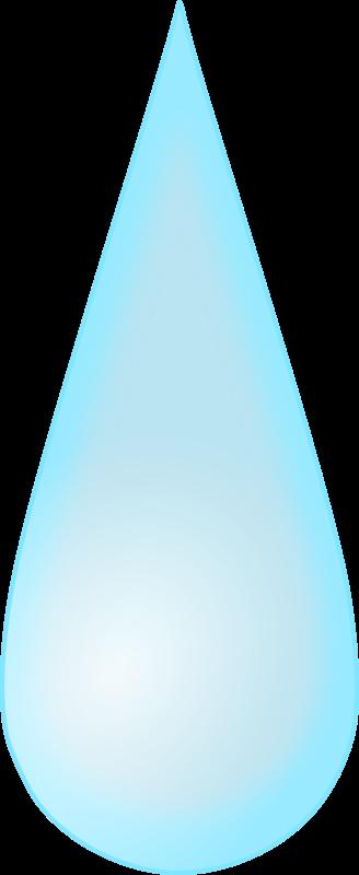 Raindrop free to use clip art 2