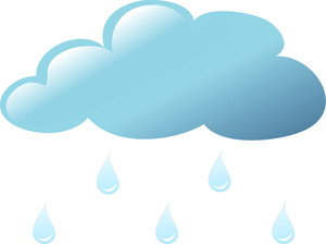 Raindrops cliparts 2