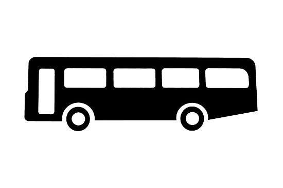 Red bus clipart free images 4