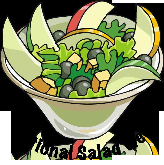 Salad clip art clipart