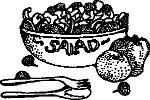 Salad clip art download