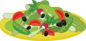 Salad clipart 0