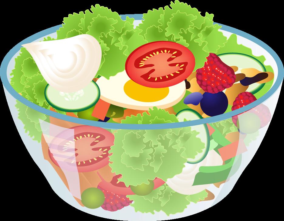 Salad clipart 2