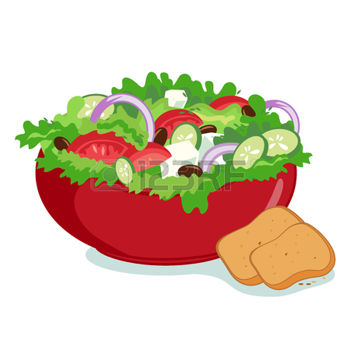Salad clipart saladclipart vegetable clip art 2