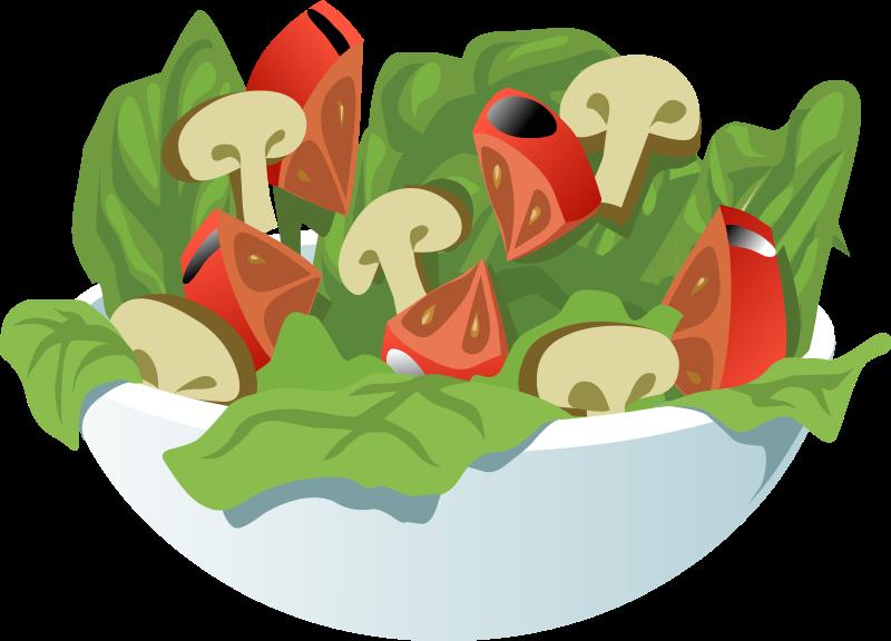 Salad clipart saladclipart vegetable clip art 3