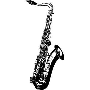 Saxophone clipart 0 3