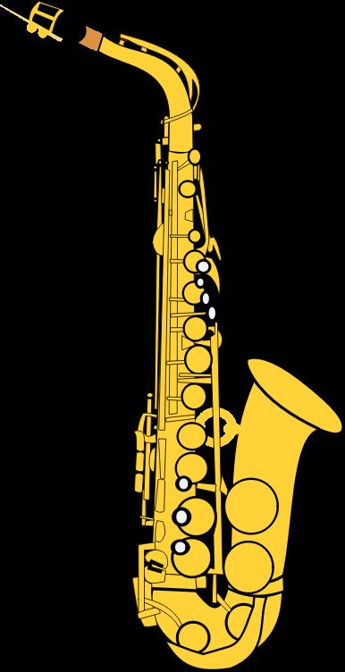 Saxophone clipart 0