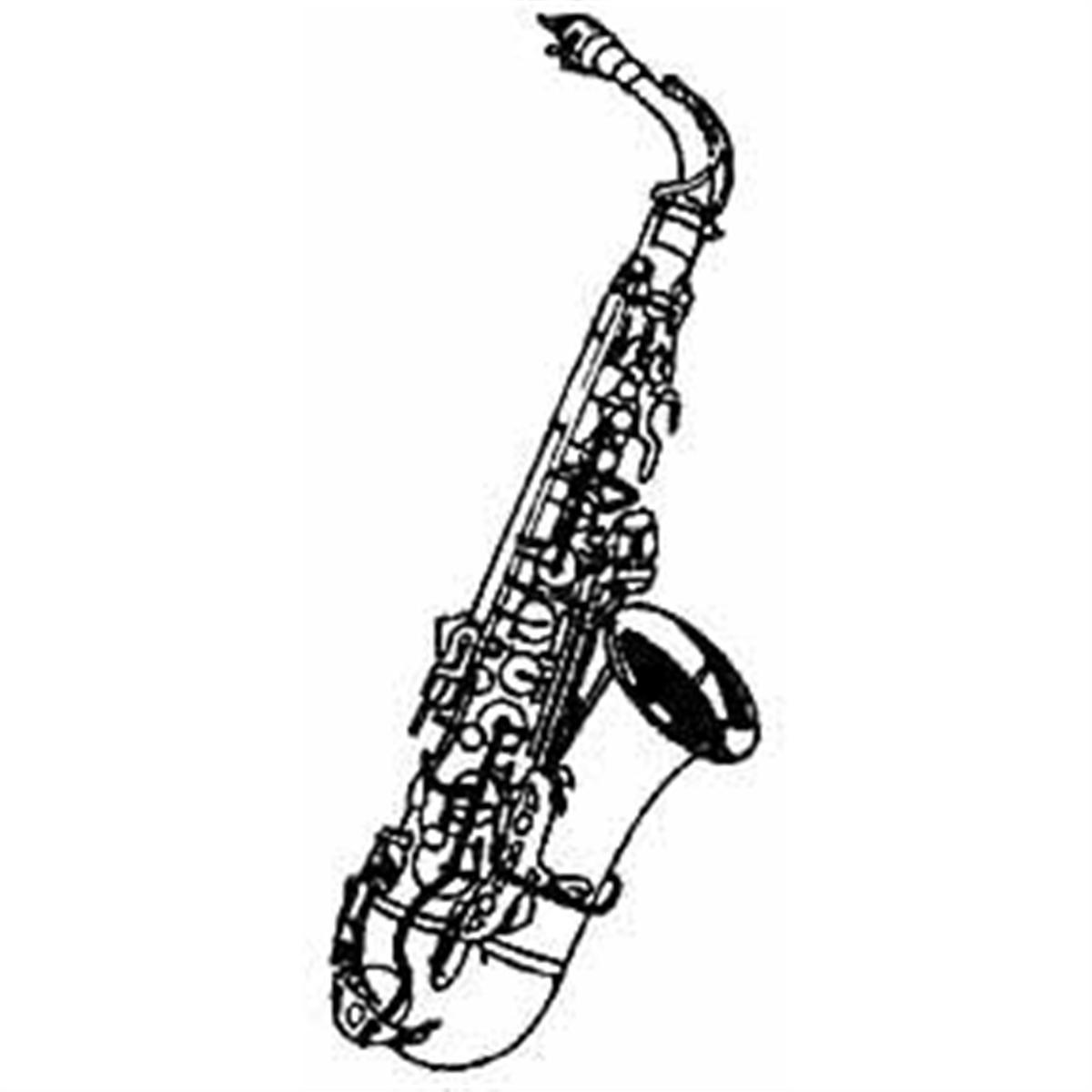 Saxophone cliparts 2