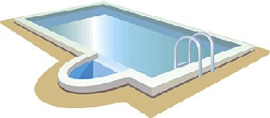 Showing gallery for swimming pool clip art