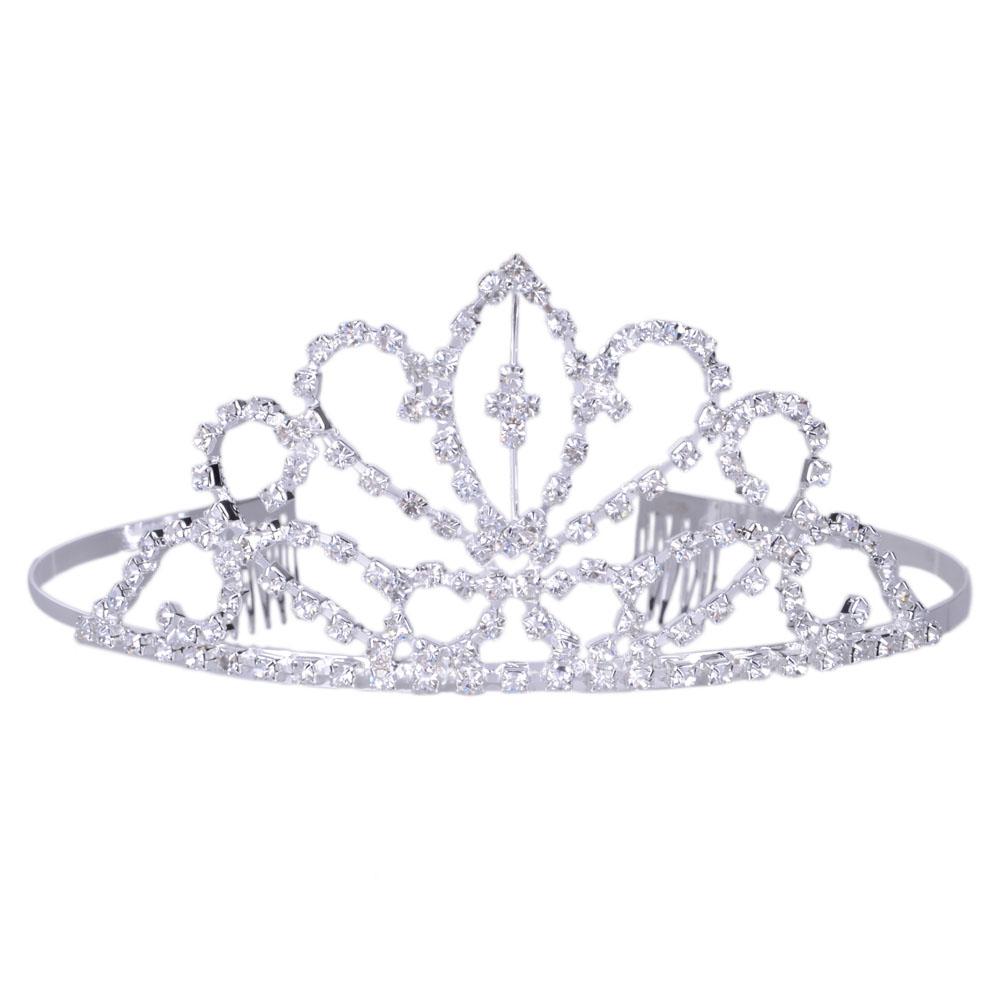 Silver tiara clipart