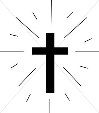 Simple black cross clip art free clipart images 2