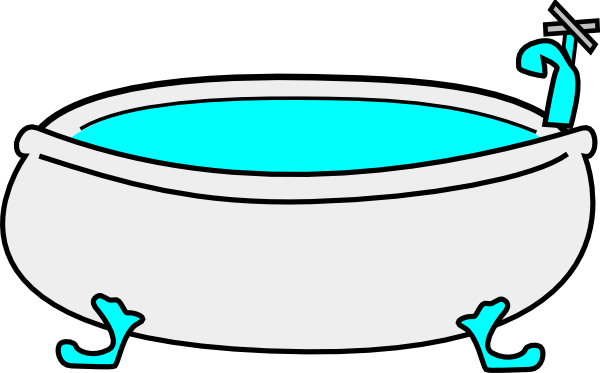 Sink clip art 3