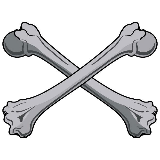 Skull bones vectors free vector graphics freevectors clipart