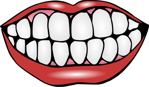 Smile clip art mouth