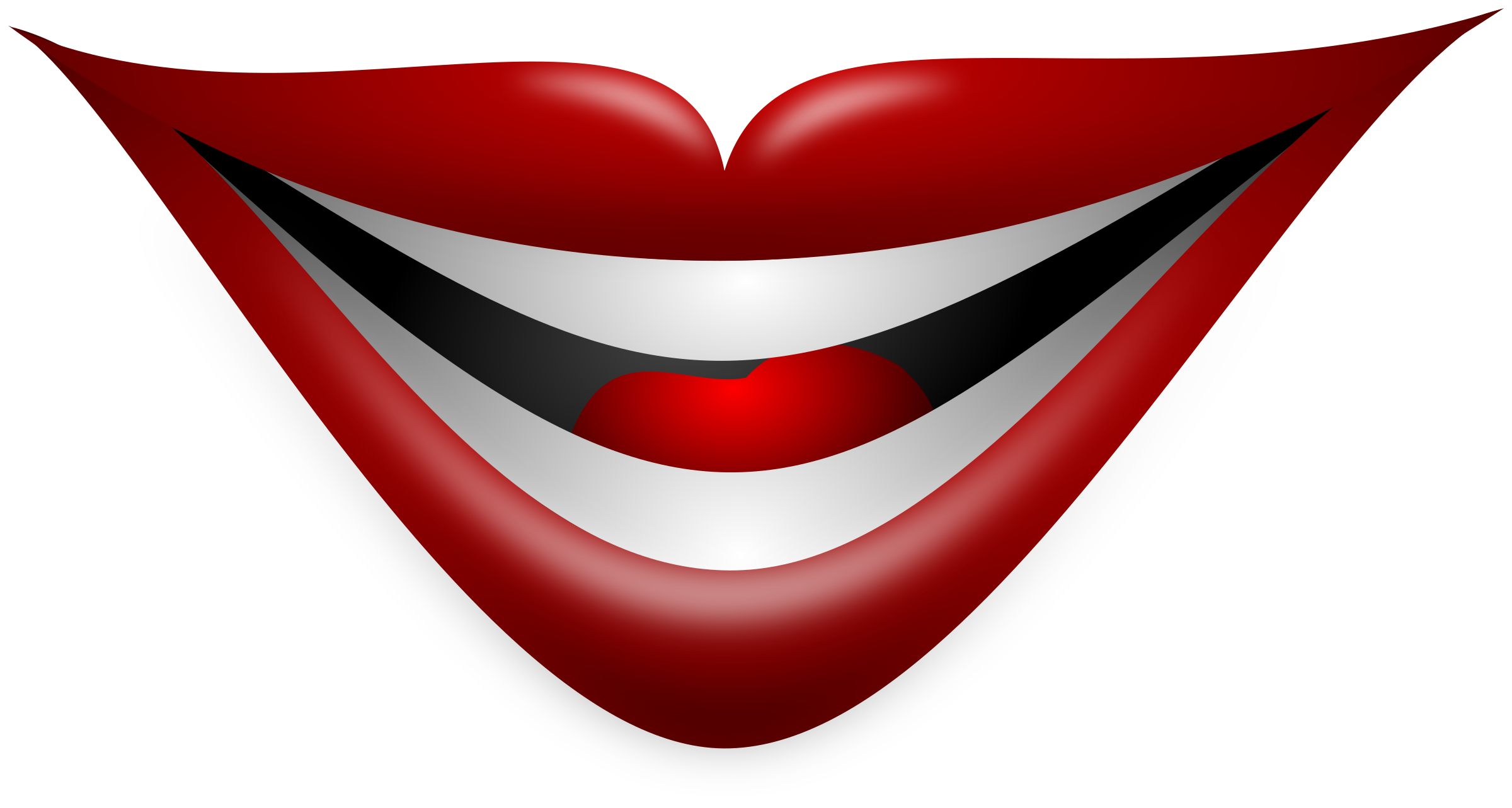 Smile smiling mouth clipart