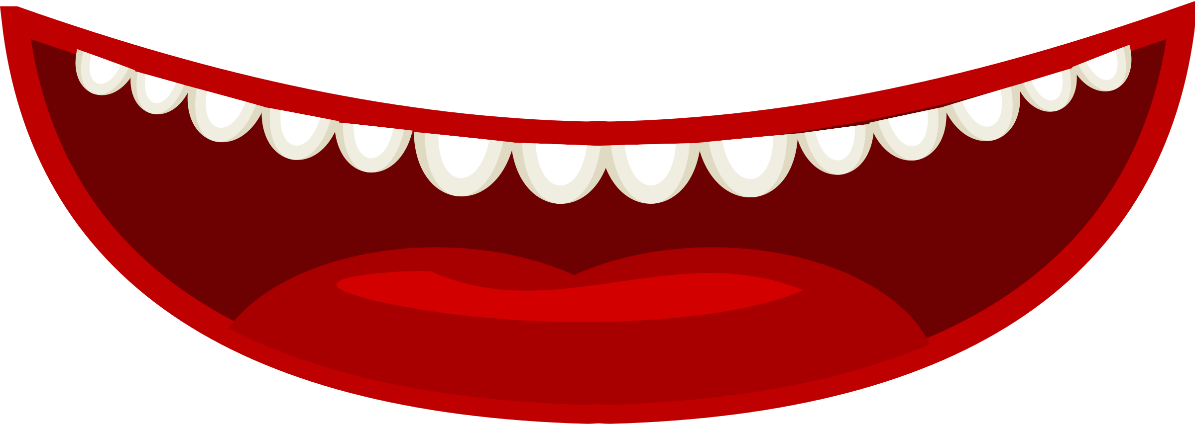 Smile teeth clipart 3