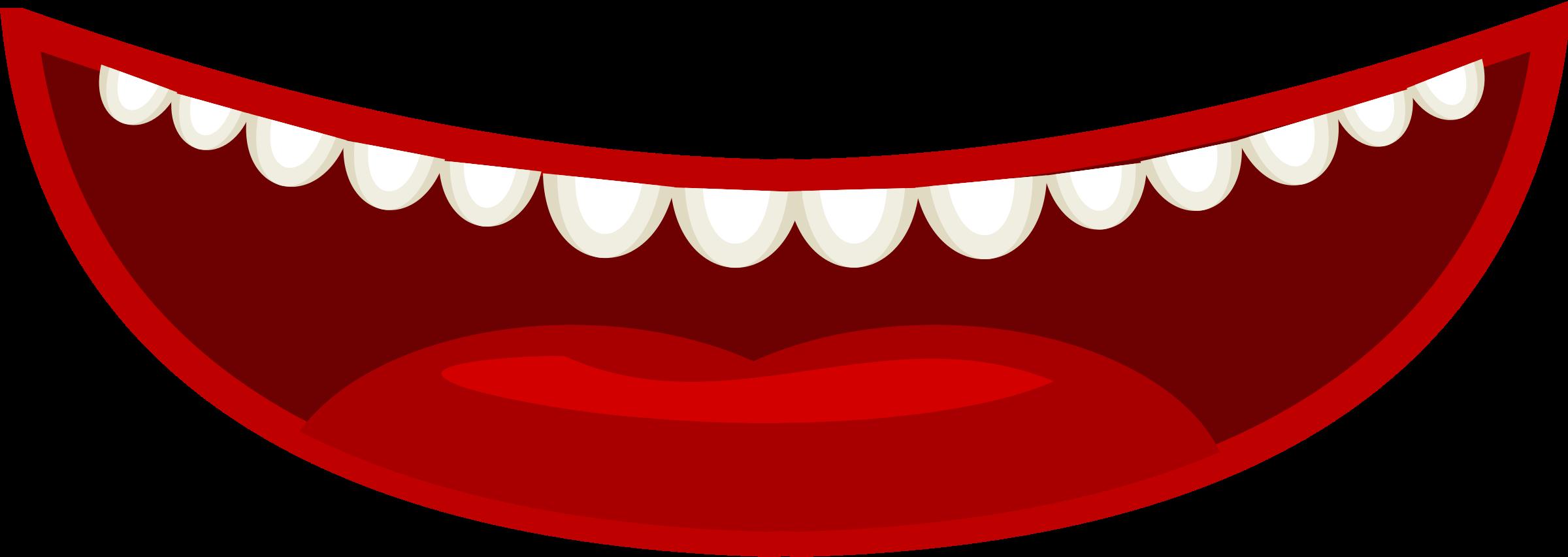 Smile teeth clipart 3