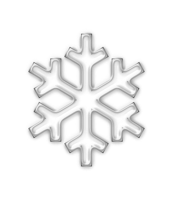 Snowflake clipart white line art christmas xmas snowman