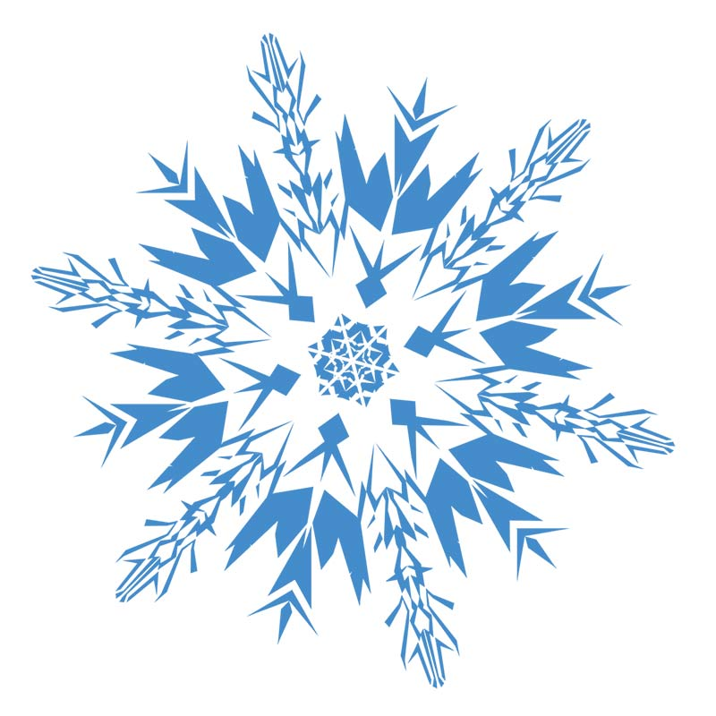 Snowflakes free snowflake clipart clip art