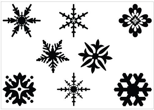 Snowflakes snowflake clipart 4