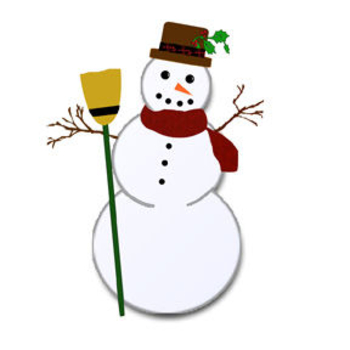 Snowman  black and white free snowman clipart black and white 2