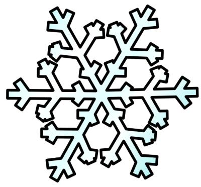 Snowman  black and white snowflakes snowflake clipart black and white free 2