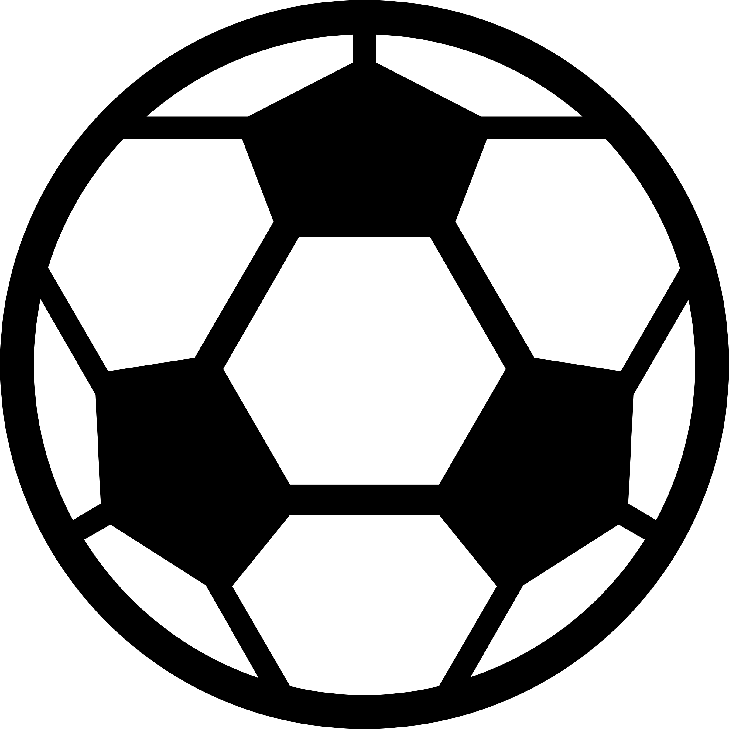 Soccer ball clip art 4