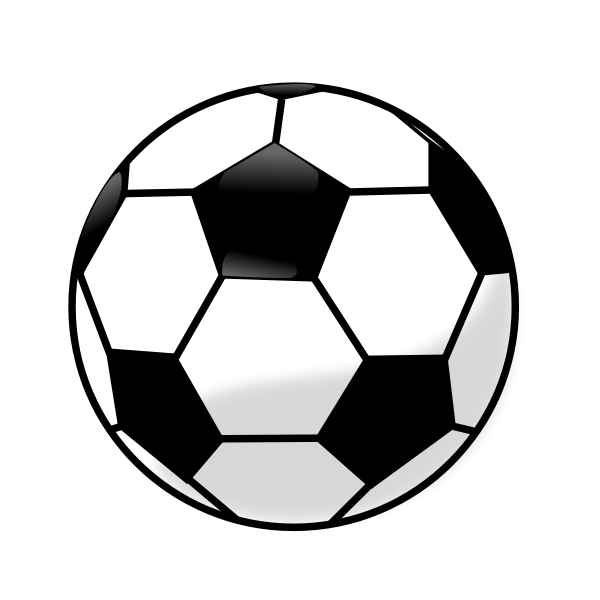 Soccer ball clipart free images 3