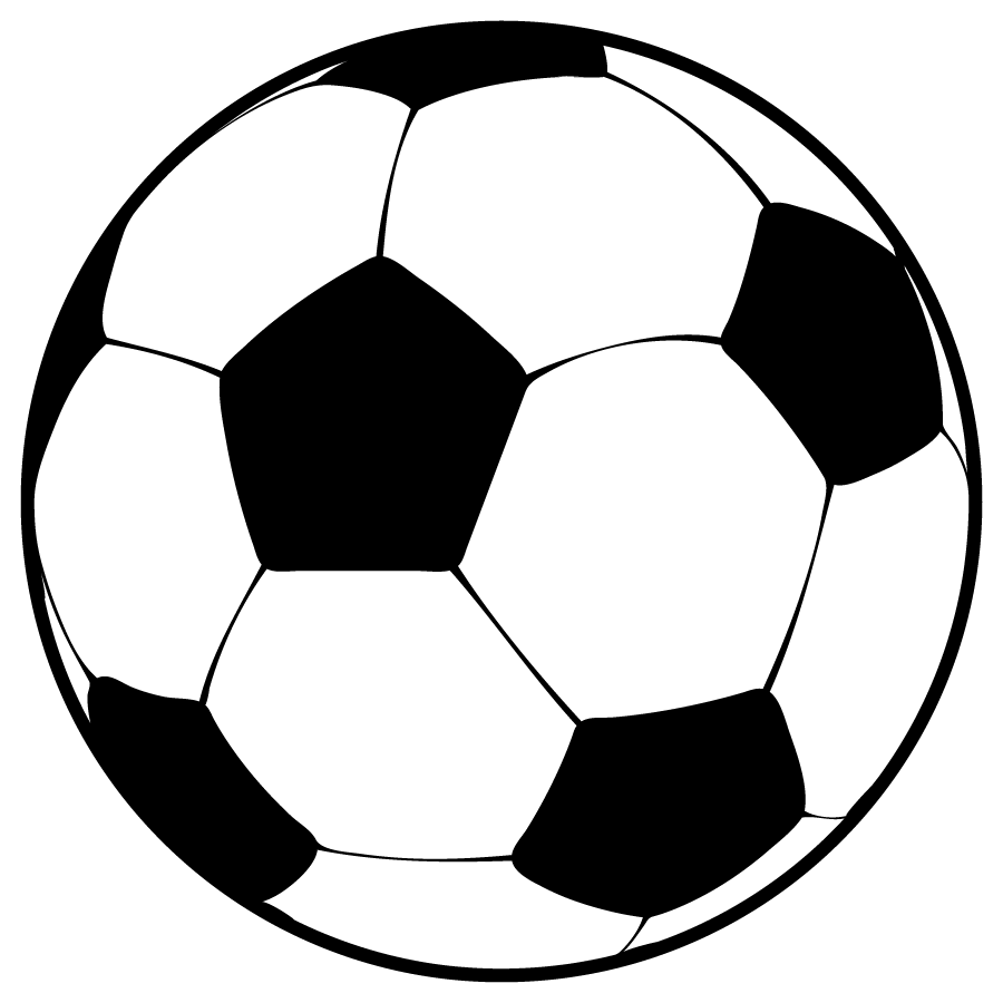 Soccer ball graphics clipart