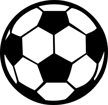 Soccer on soccer ball clip art and award certificates