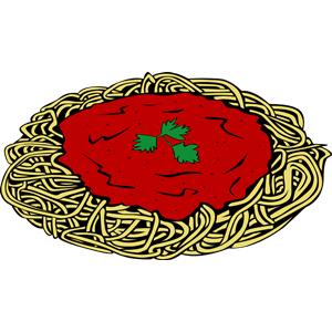 Spaghetti clipart 2