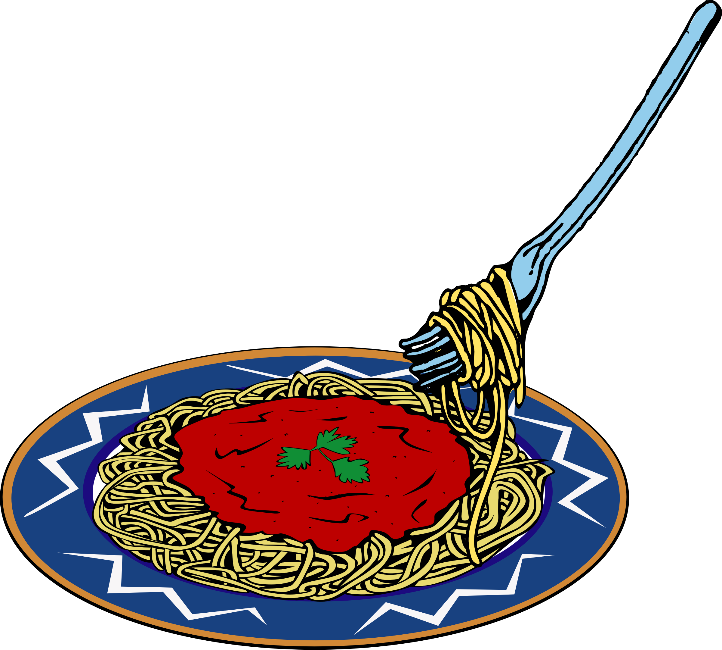 Spaghetti clipart 3