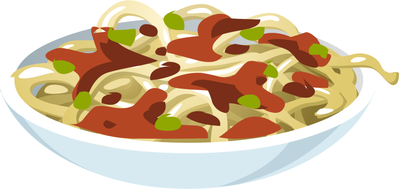 Spaghetti clipart 9